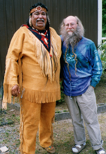 Dean Evenson and Cha-das-ska-dum