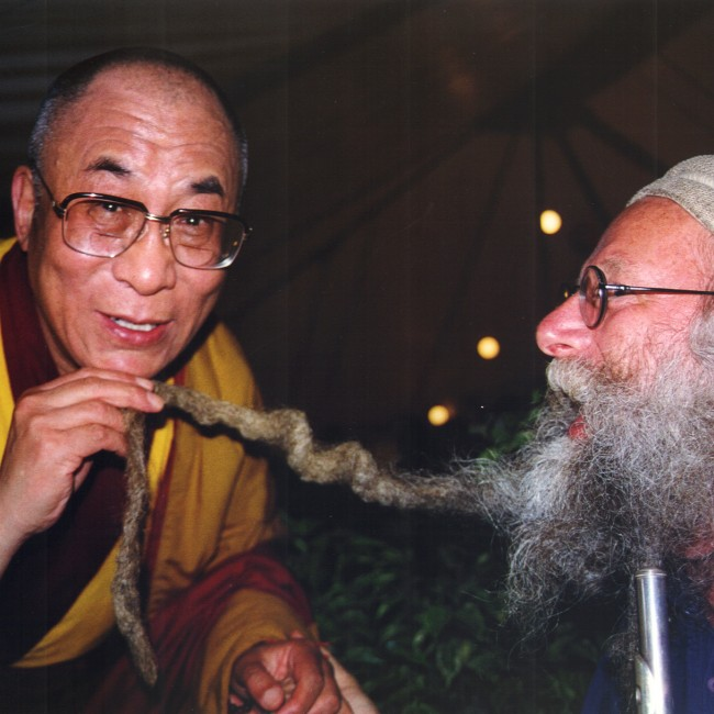 Dean Evenson and HH The Dalai Lama