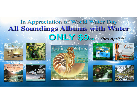 World Water Day Special - Albums with Water Only 9ea
